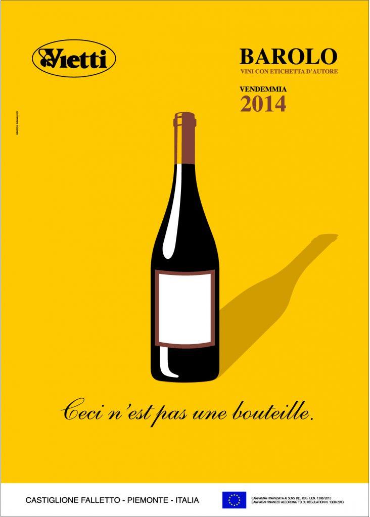 Poster 2014 Barolo Vintage Bruno Sacchetto
