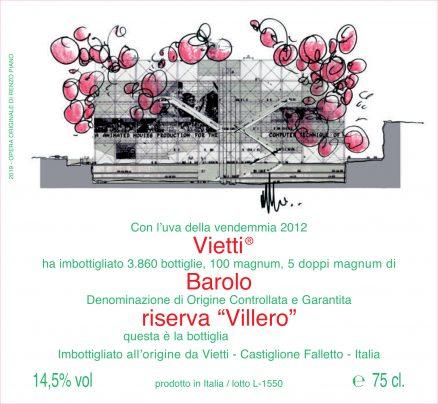 Renzo Piano - Barolo Riserva Villero 2012