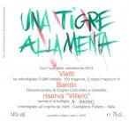 Etichetta del Barolo DOCG Riserva Villero 2013 di Vietti